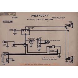 Westcott 0 30 6volt Schema Electrique 1914 Jesco V2
