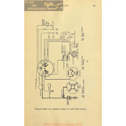 Westcott 17 Schema Electrique 1917 Delco