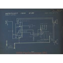 Westcott 3 30 Schema Electrique 1914 Jesco