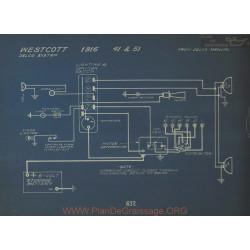 Westcott 41 51 Schema Electrique 1916 Delco