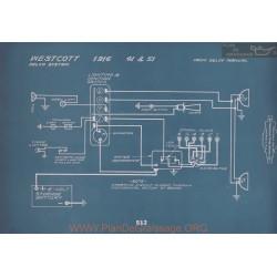 Westcott 41 51 Schema Electrique 1916 V2