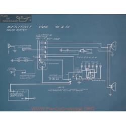 Westcott 41 51 Schema Electrique 1916