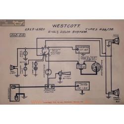 Westcott A38 C38 6volt Schema Electrique 1919 1920 Delco