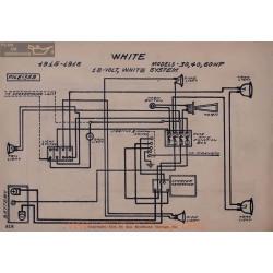 White 30 40 60 Hp 18volt Schema Electrique 1915 1916 White