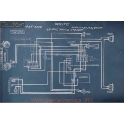 White 30 40 60hp 18volt Schema Electrique 1915 1916 White