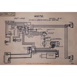 White G M 12volt Schema Elctrique 1918 1917 Leece Neville