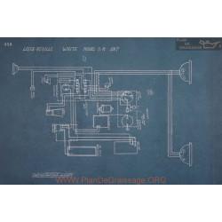 White G M Schema Electrique 1917