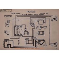 Winton 21 6volt Schema Elctrique 1914 1915 Gray & Davis