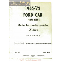 Ford 1965 1972 Diagrams And Exploded Views
