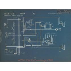 Winton 21 Schema Electrique 1915 Gray & Davis