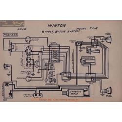 Winton 21a 6volt Schema Elctrique 1915 Bijur
