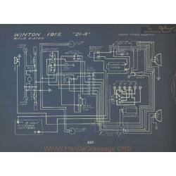 Winton 21a Schema Electrique 1915 Bijur