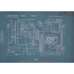 Winton 21a Schema Electrique 1915 V2