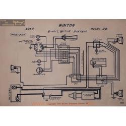 Winton 22 6volt Schema Electrique 1919 Bijur V2
