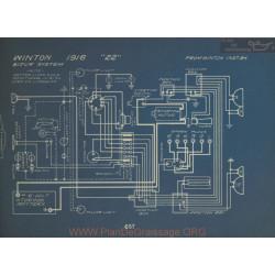 Winton 22 Schema Electrique 1916 Bijur