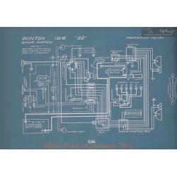 Winton 22 Schema Electrique 1916 V2