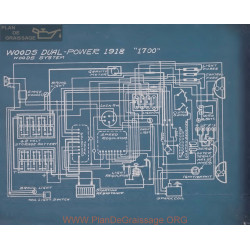 Woods Dual Power 1700 Schema Electrique 1918
