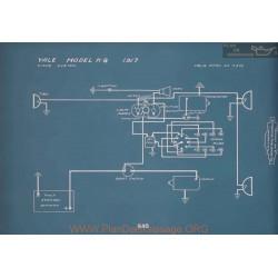 Yale K8 Schema Electrique 1917