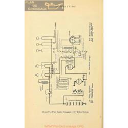 Ahrens Fox Fire Schema Electrique 1917 Delco