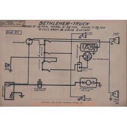 Bethlehem Truck 3ton 3ton 6volt Schema Electrique Gray & Davis