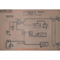 Commerce Truck E 6volt Schema Electrique Remy