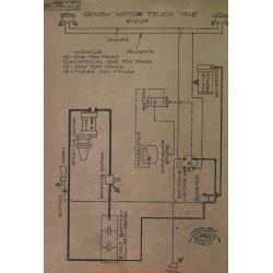 Denby Motor Truck Schema Electrique 1918 Bijur