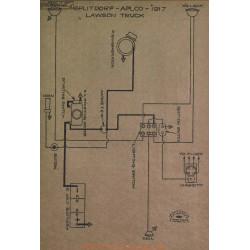 Lawson Truck Schema Electrique 1917 Splitdorf Aplco