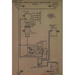 Lippard Stewart Truck M2 Schema Electrique 1917 Remy V2