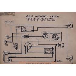 Old Hickory Truck 12volt Schema Electrique 1916 1917 1918 1919 Dyneto V2