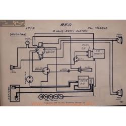 Reo 6volt Schema Electrique 1914 Remy