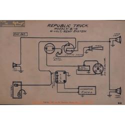 Republic Truck 8 9 6volt Schema Electrique Remy