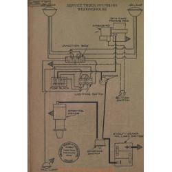 Service Truck Schema Electrique 1917 1918 1919 Westinghouse