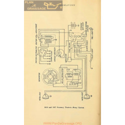 Sweeny Tractor Schema Electrique 1916 1917 Remy
