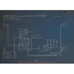Vim Truck 21 26 27 28 Schema Electrique 1919 1920 Atwater Kent