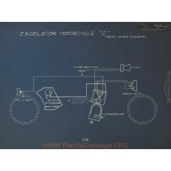 Excelsior Motorcycle C Schema Electrique