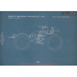 Harley Davidson Motorcycle Schema Electrique 1915