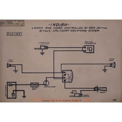 Indian horn Controlled 6volt Schema Electrique Splitdorf