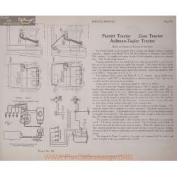 Aultman Taylor Tractor Schema Electriqe 1919 Plate 192