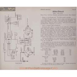 Abbot Detroit 6 44 6volt Schema Electrique 1916 Remy Plate 36
