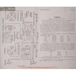 Auburn 4 38 6 38 6 40 6volt Schema Electrique 1915 1916 Remy Plate 238