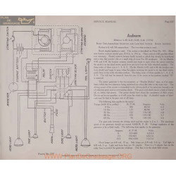 Auburn 4 40 41 6 45 46 6volt Schema Electrique 1914 Remy Plate 237