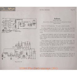 Auburn 6 40 6volt Schema Electrique 1916 Delco Plate 107