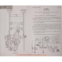Cadillac 51 Model 1915 6volt Schema Electrique 1919 Delco Plate 113