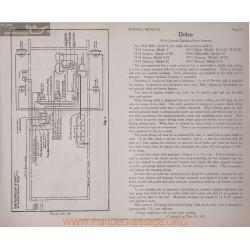 Cartercar 7 6volt Schema Electrique 1914 Delco Plate 66