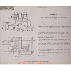 Cartercar 9 6volt Schema Electrique 1915 Delco Plate 125