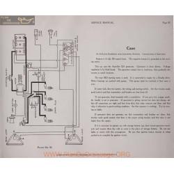 Case 6volt Schema Electrique 1919 Autolite Plate 30