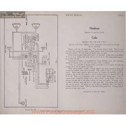 Cole 4 40 4 50 6 60 6volt 24volt Schema Electrique 1913 Plate 72