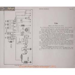 Cole 4 40 6 66 6volt Schema Electrique 1915 1916 Delco Plate 122