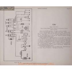 Cole 6 50 6volt Schema Electrique 1915 Delco Plate 123
