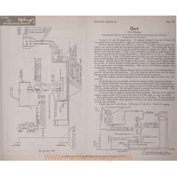 Dort Model 1915 6volt 12volt Schema Electrique Splitdorf Plate 170